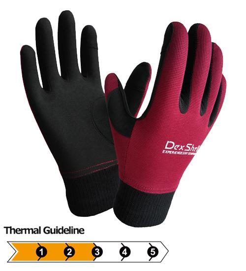 防水通気アクアブロッカー手袋