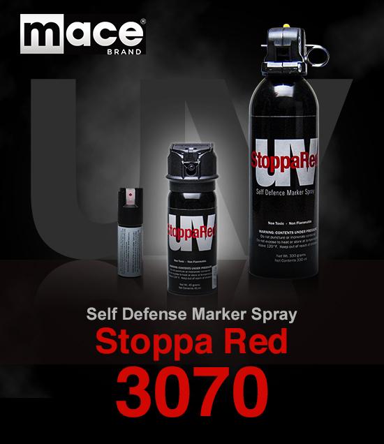 防犯スプレーmace(メース)ストッパレッド 3070